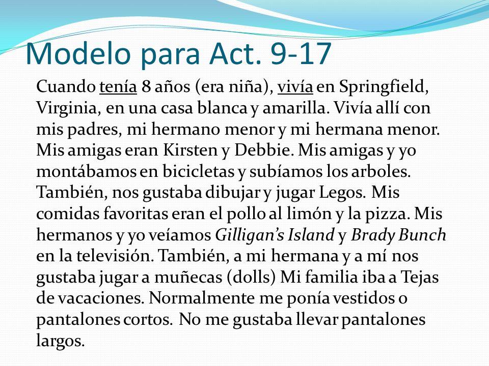 Modelo para Act. 9-17