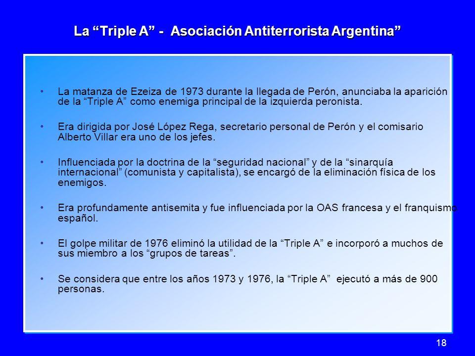 La Triple A - Asociación Antiterrorista Argentina