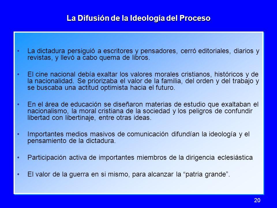 La Difusión de la Ideología del Proceso