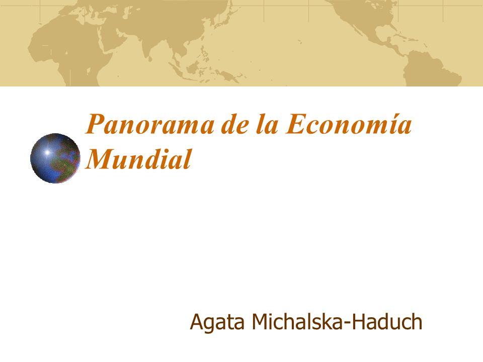 Panorama de la Economía Mundial