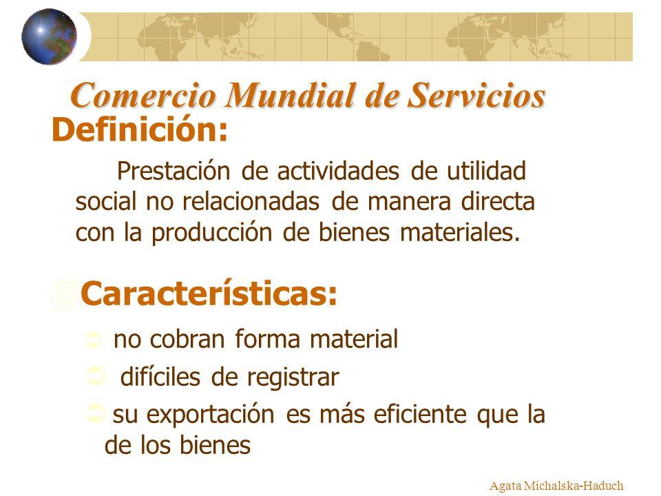 Comercio Mundial de Servicios