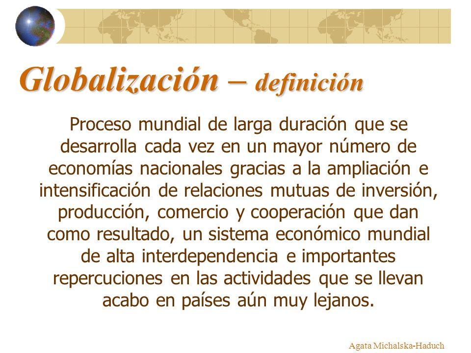 Globalización – definición