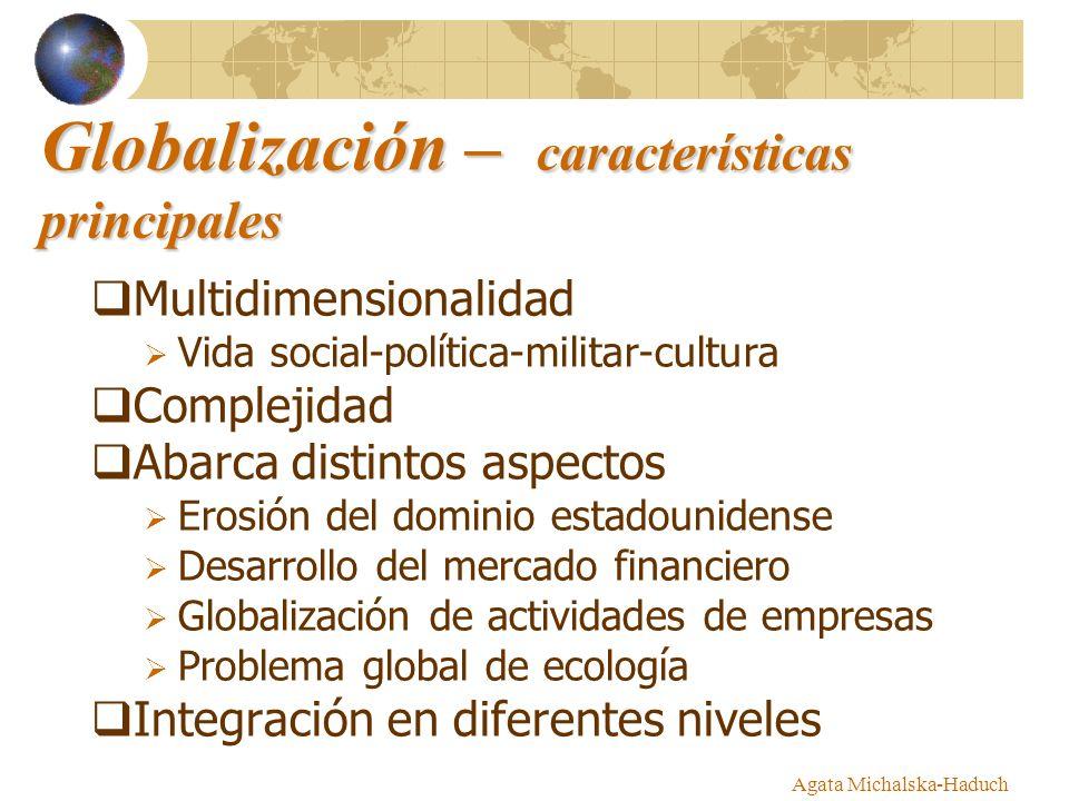 Globalización – características principales