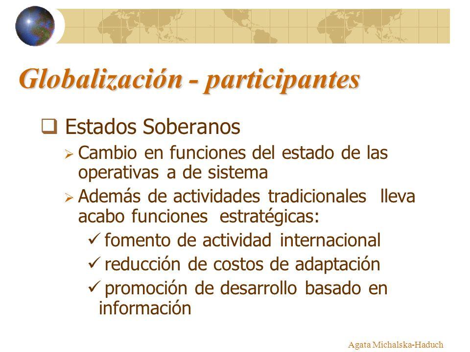 Globalización - participantes