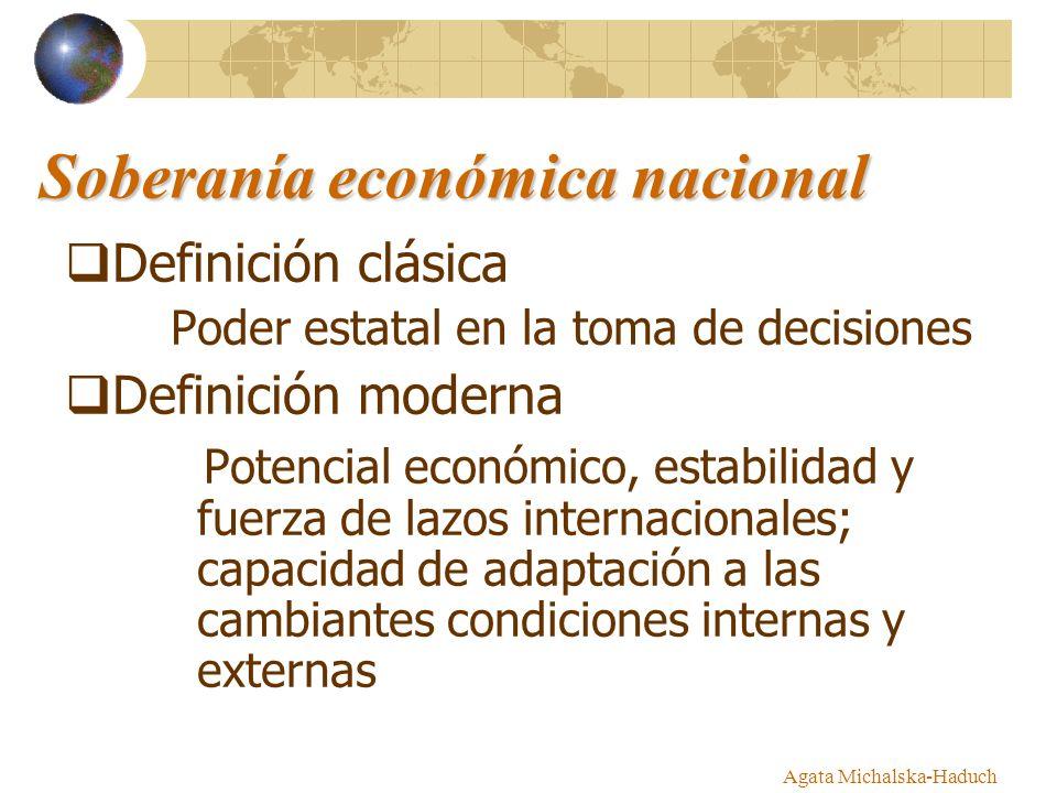 Soberanía económica nacional
