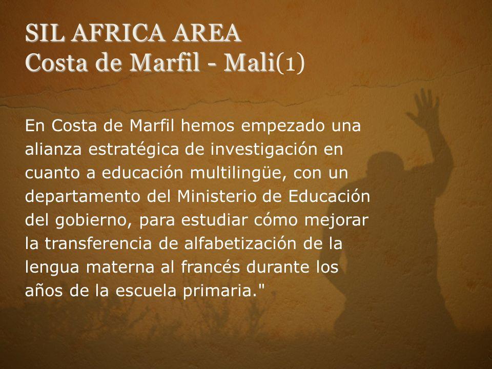 SIL AFRICA AREA Costa de Marfil - Mali(1)