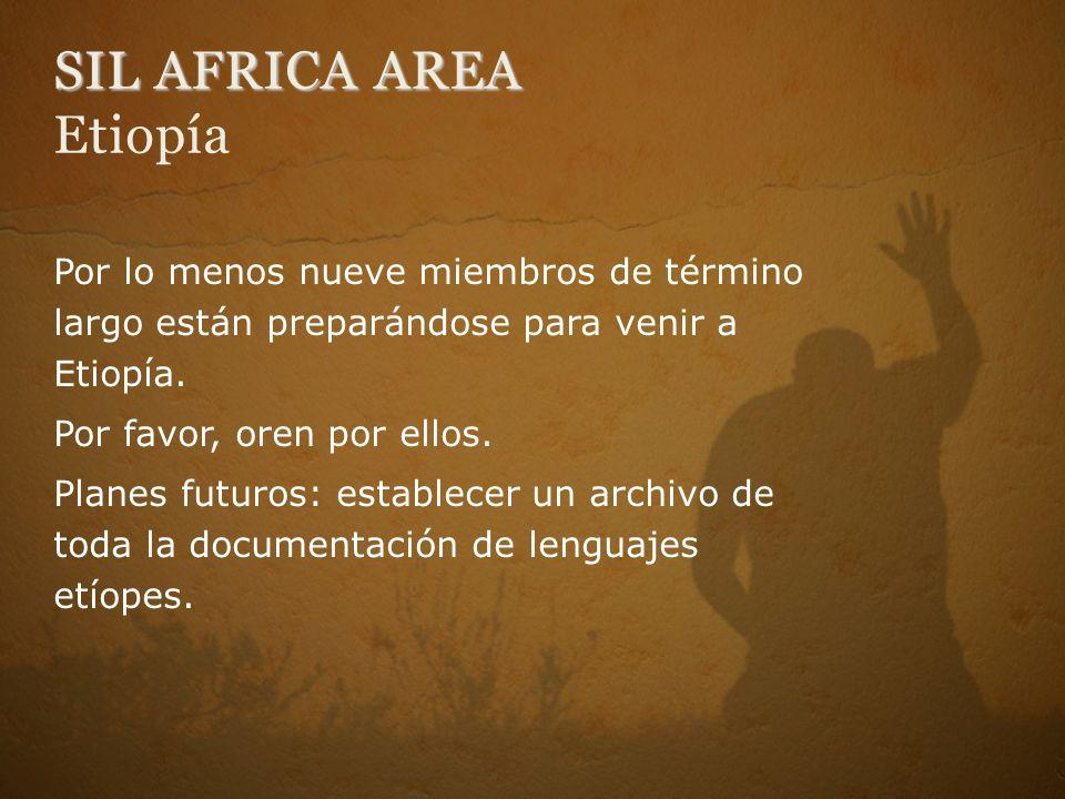 SIL AFRICA AREA Etiopía