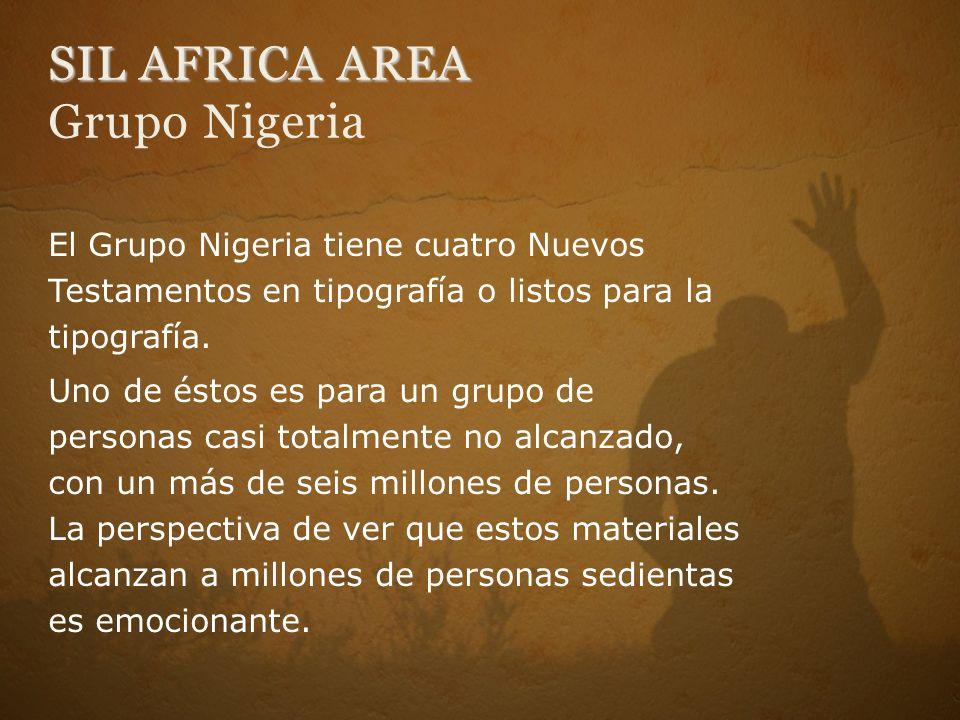SIL AFRICA AREA Grupo Nigeria