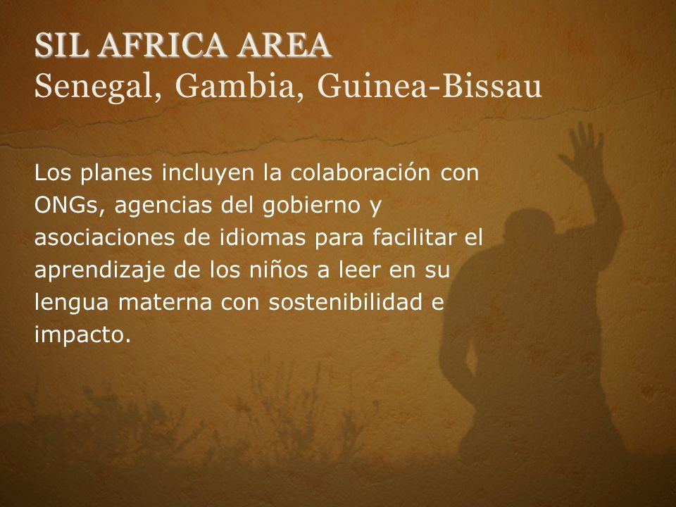 SIL AFRICA AREA Senegal, Gambia, Guinea-Bissau