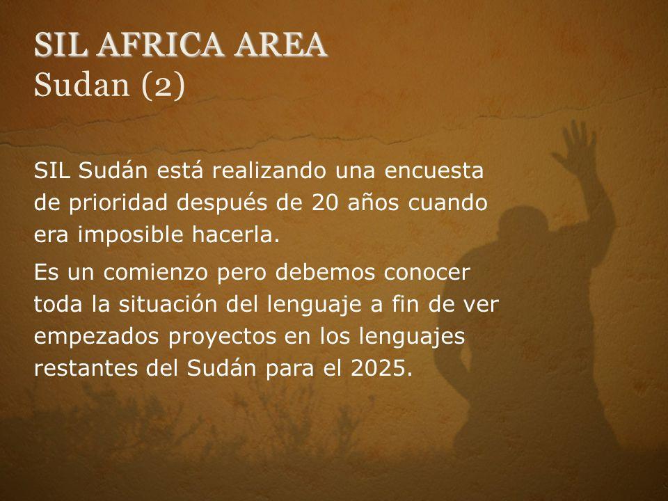 SIL AFRICA AREA Sudan (2)