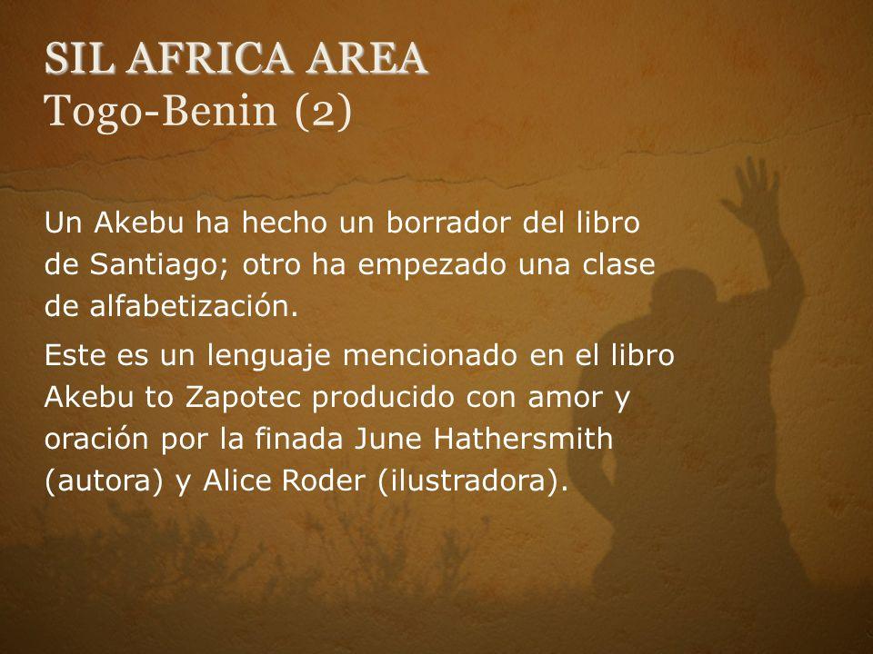 SIL AFRICA AREA Togo-Benin (2)