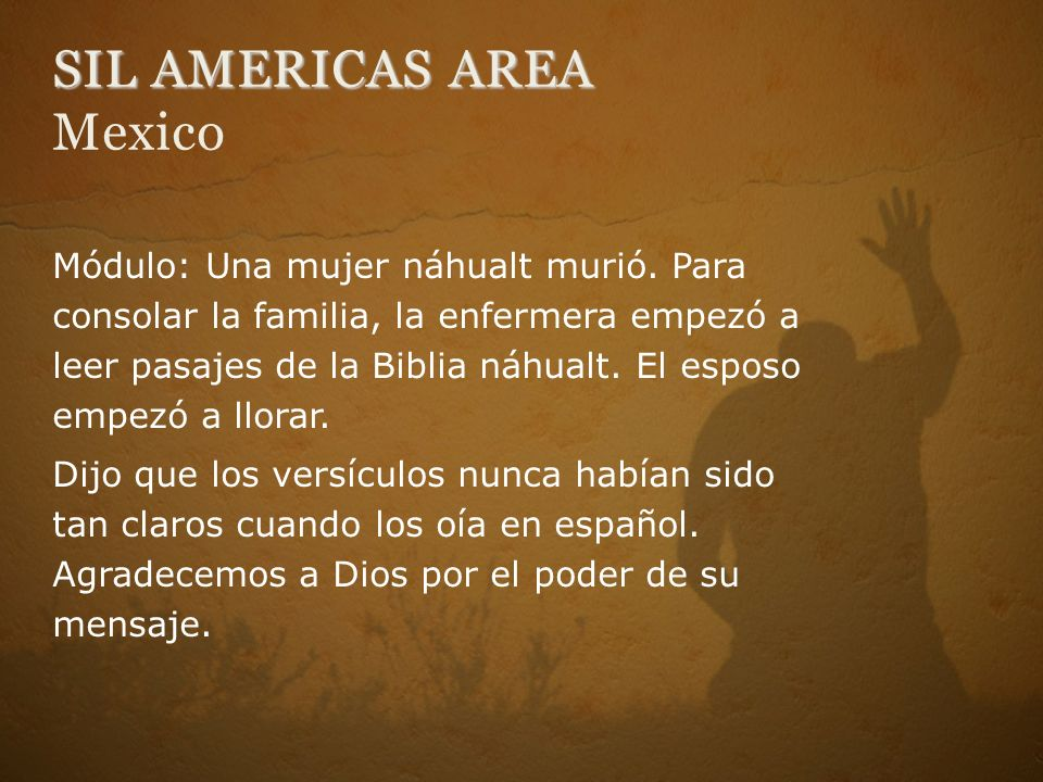 SIL AMERICAS AREA Mexico