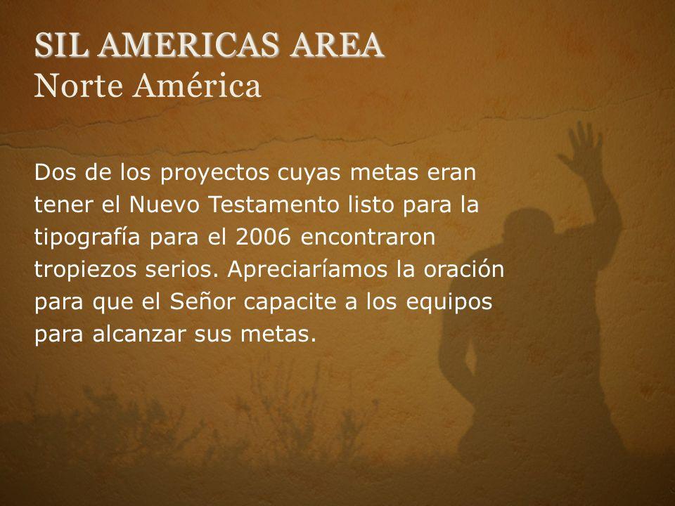 SIL AMERICAS AREA Norte América