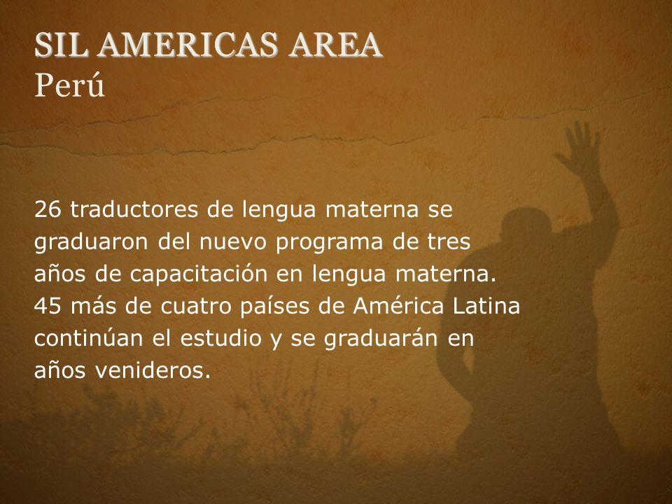 SIL AMERICAS AREA Perú