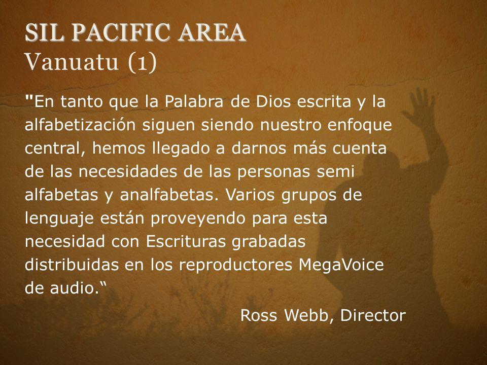 SIL PACIFIC AREA Vanuatu (1)