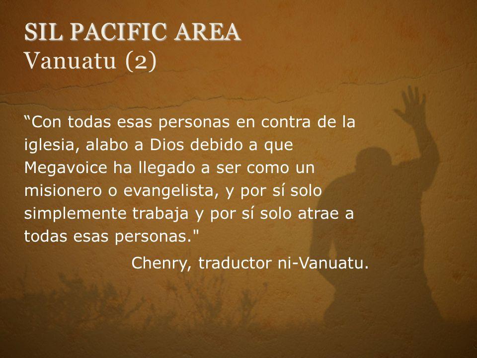 SIL PACIFIC AREA Vanuatu (2)