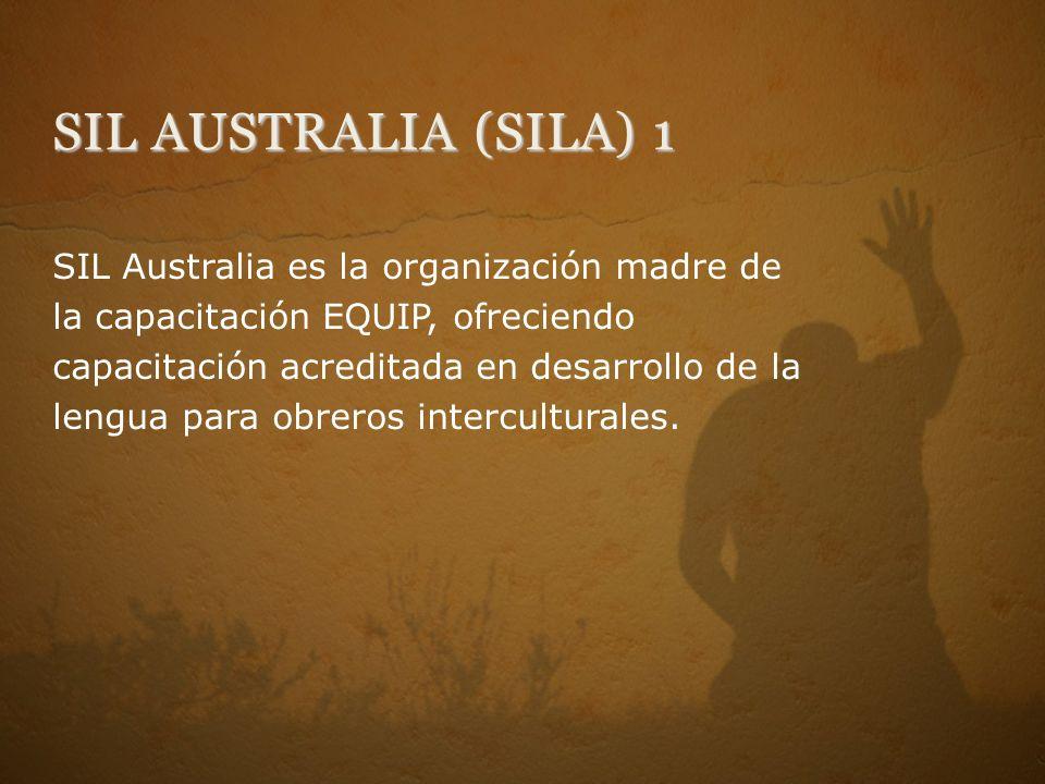SIL AUSTRALIA (SILA) 1