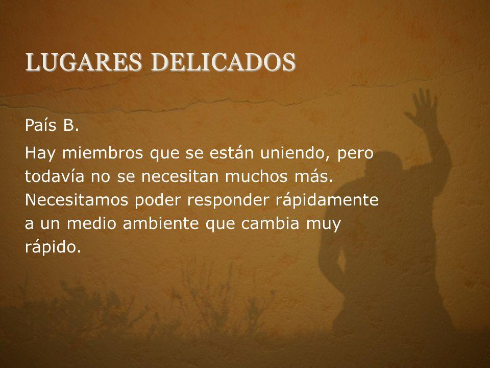 LUGARES DELICADOS