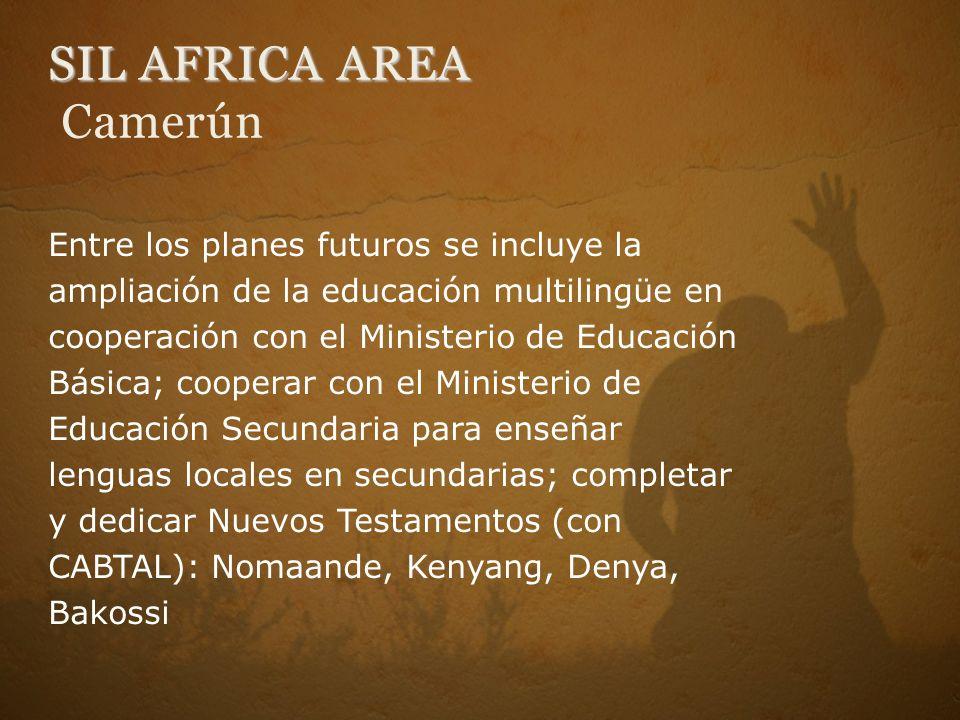 SIL AFRICA AREA Camerún