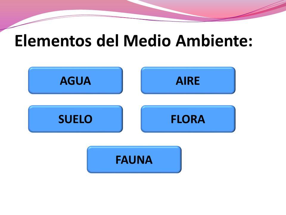 Elementos del Medio Ambiente: