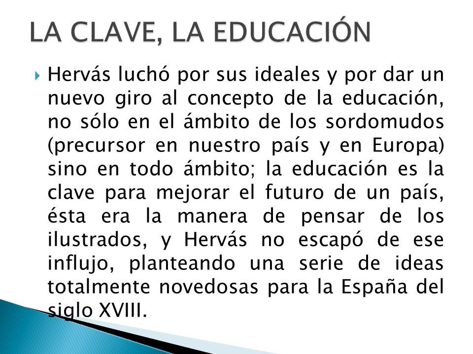 LA CLAVE, LA EDUCACIÓN