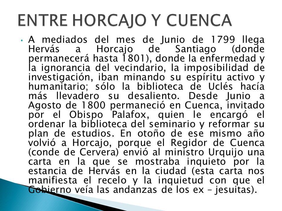 ENTRE HORCAJO Y CUENCA