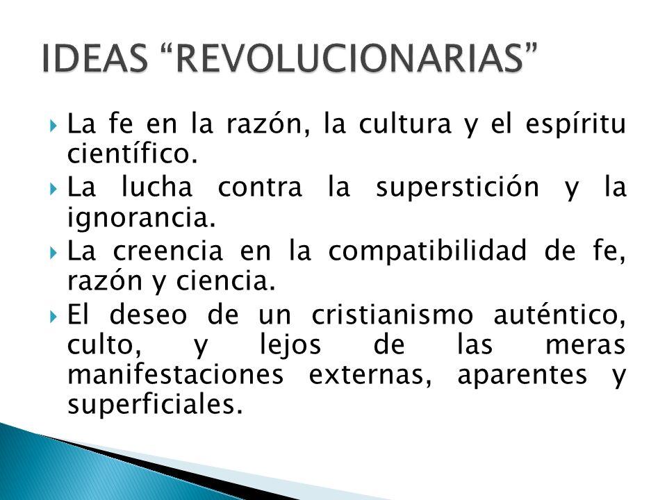 IDEAS REVOLUCIONARIAS
