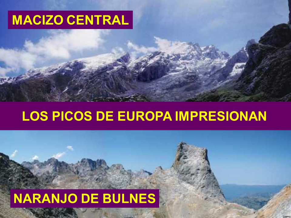 LOS PICOS DE EUROPA IMPRESIONAN