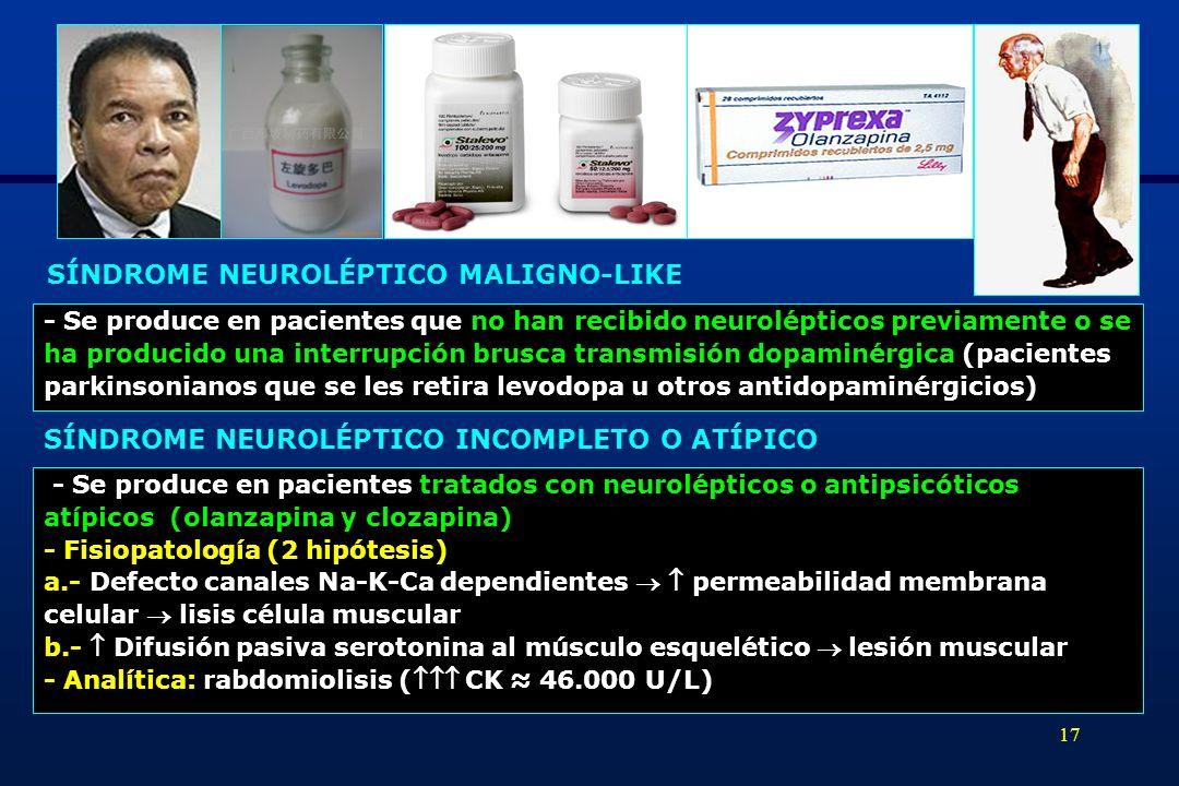 SÍNDROME NEUROLÉPTICO MALIGNO-LIKE