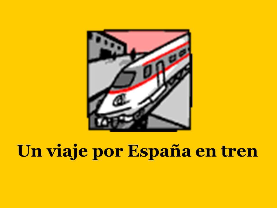 Un viaje por España en tren