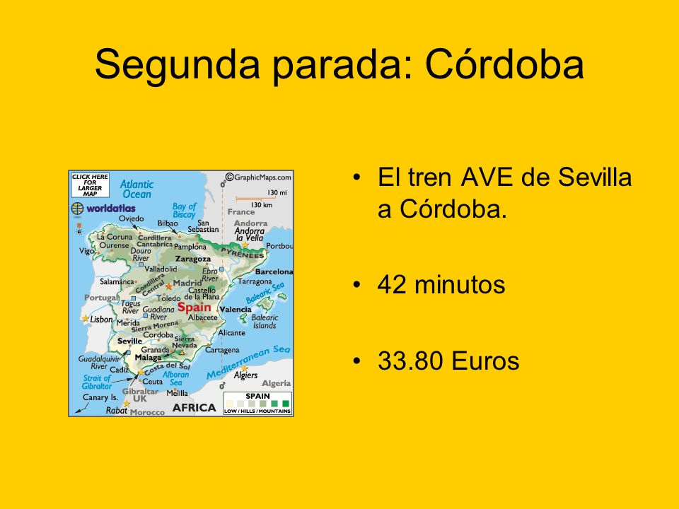 Segunda parada: Córdoba