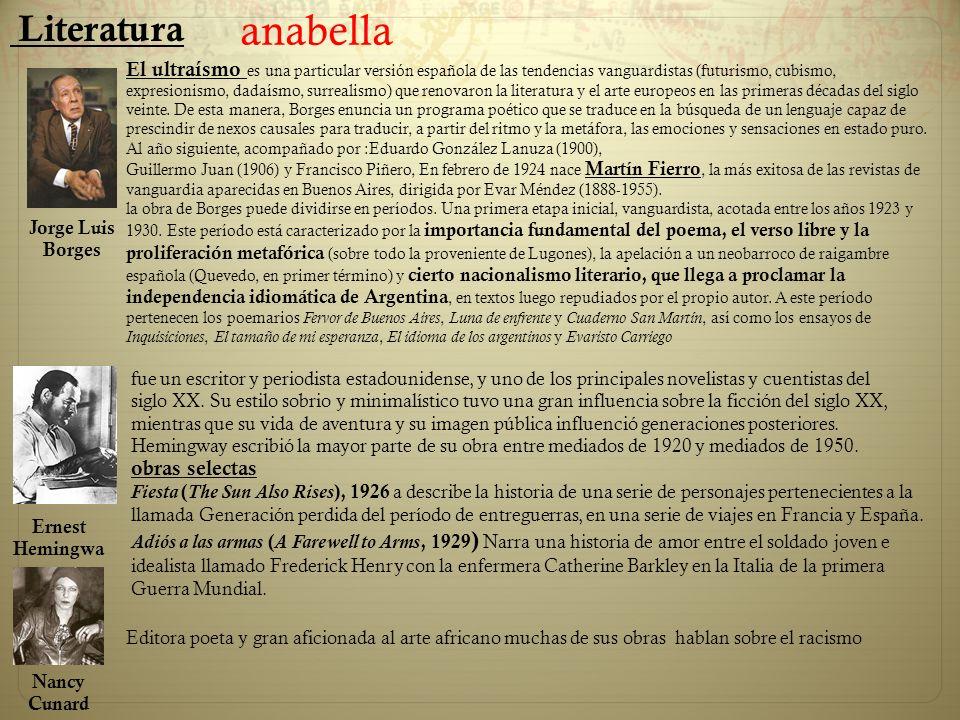 Literatura anabella.