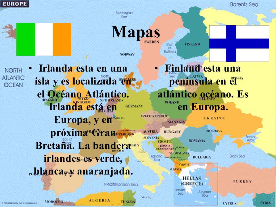 Finland esta una peninsula en el atlántico océano. Es en Europa.