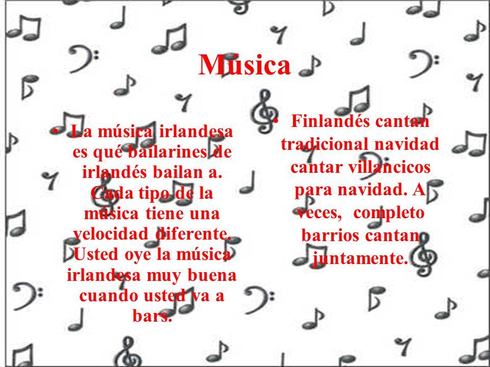 Música Finlandés cantan tradicional navidad cantar villancicos para navidad. A veces, completo barrios cantan juntamente.
