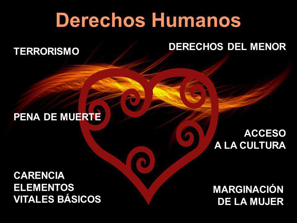 Derechos Humanos DERECHOS DEL MENOR TERRORISMO PENA DE MUERTE ACCESO