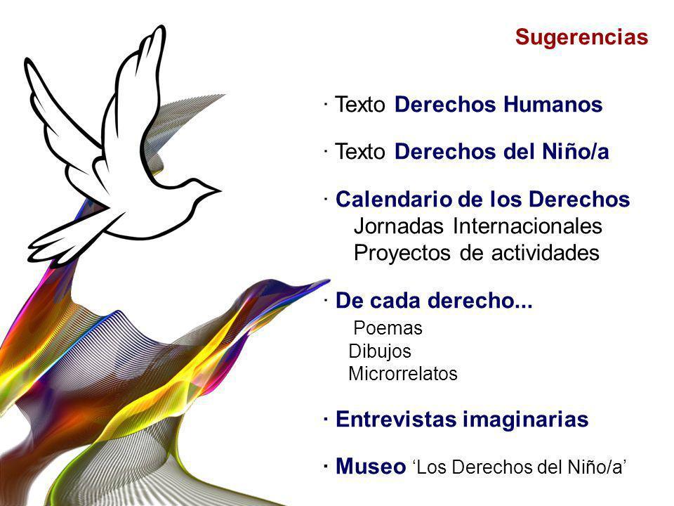 · Texto Derechos Humanos · Texto Derechos del Niño/a