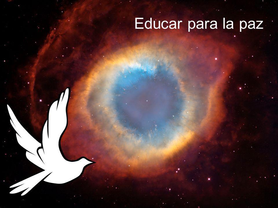 Educar para la paz . Descripción teórica . Paz en el propio entorno: