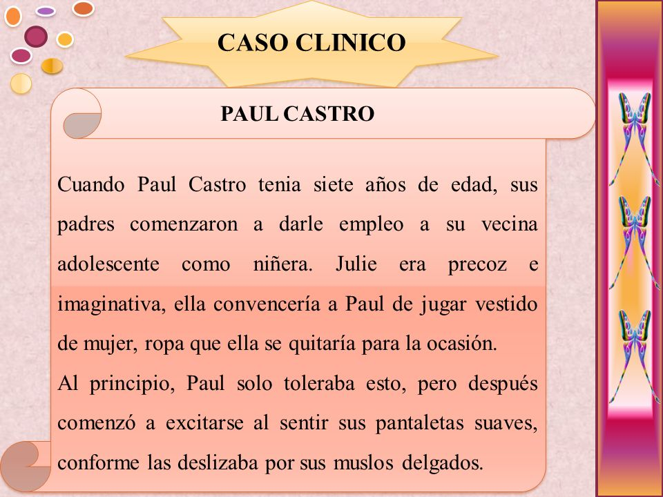 CASO CLINICO PAUL CASTRO