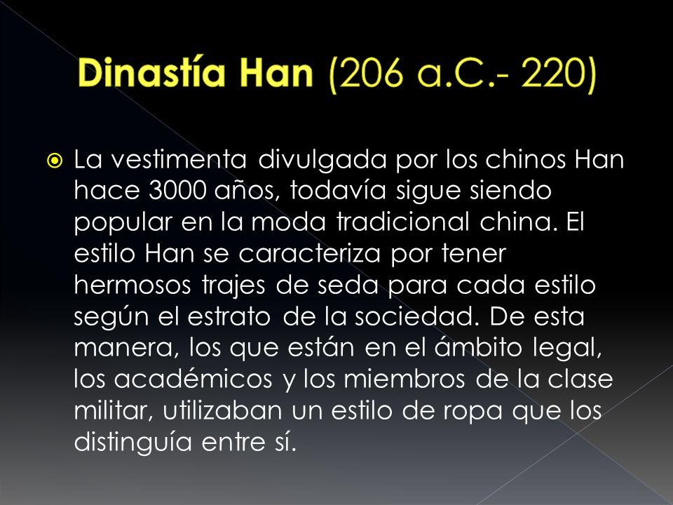 Dinastía Han (206 a.C.- 220)
