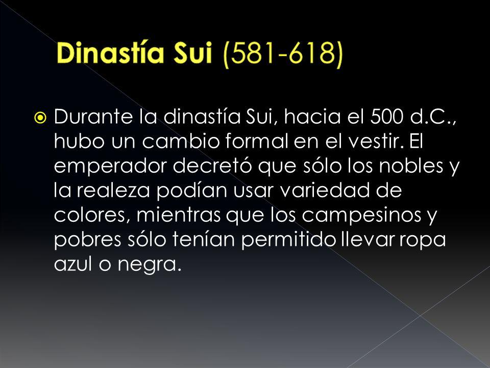 Dinastía Sui (581-618)