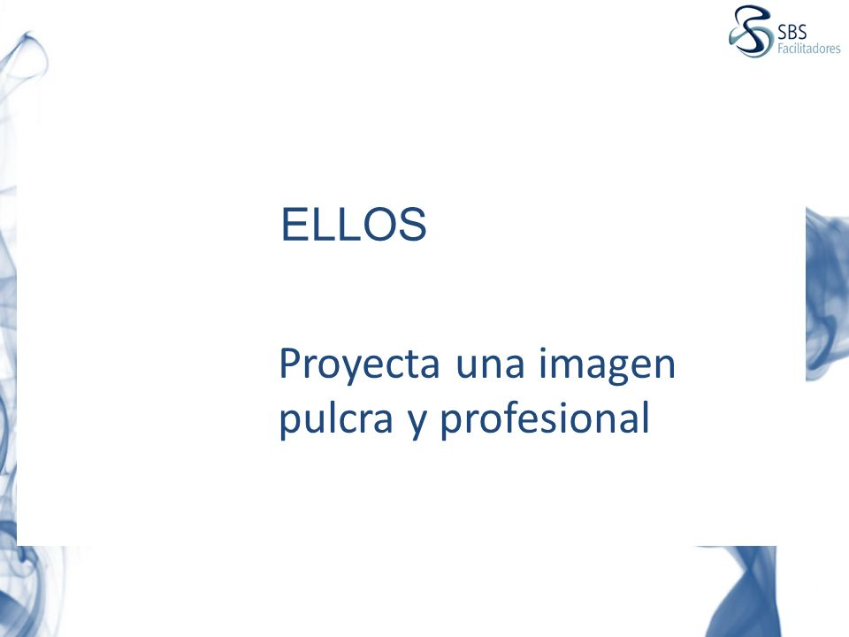 Proyecta una imagen pulcra y profesional