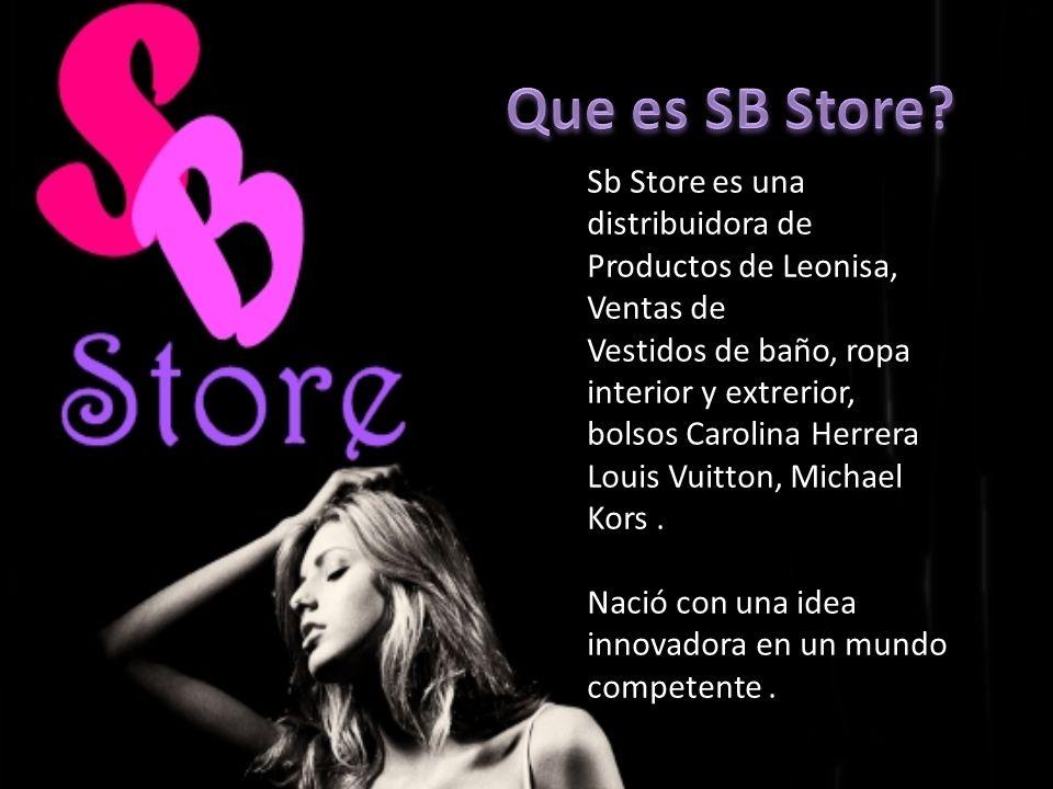 Que es SB Store SB Sb Store es una distribuidora de