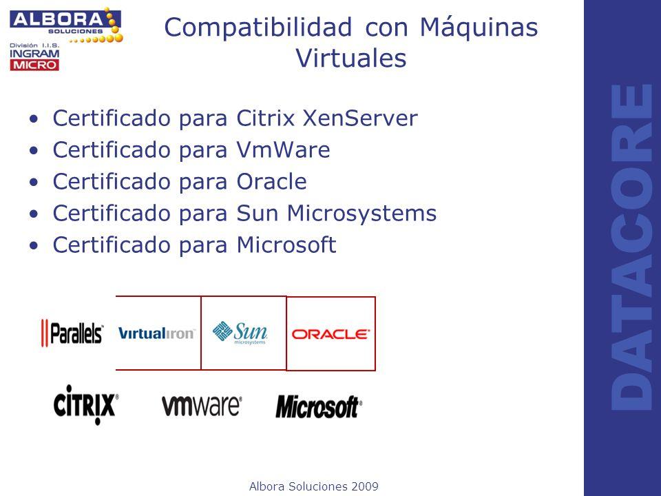 Compatibilidad con Máquinas Virtuales