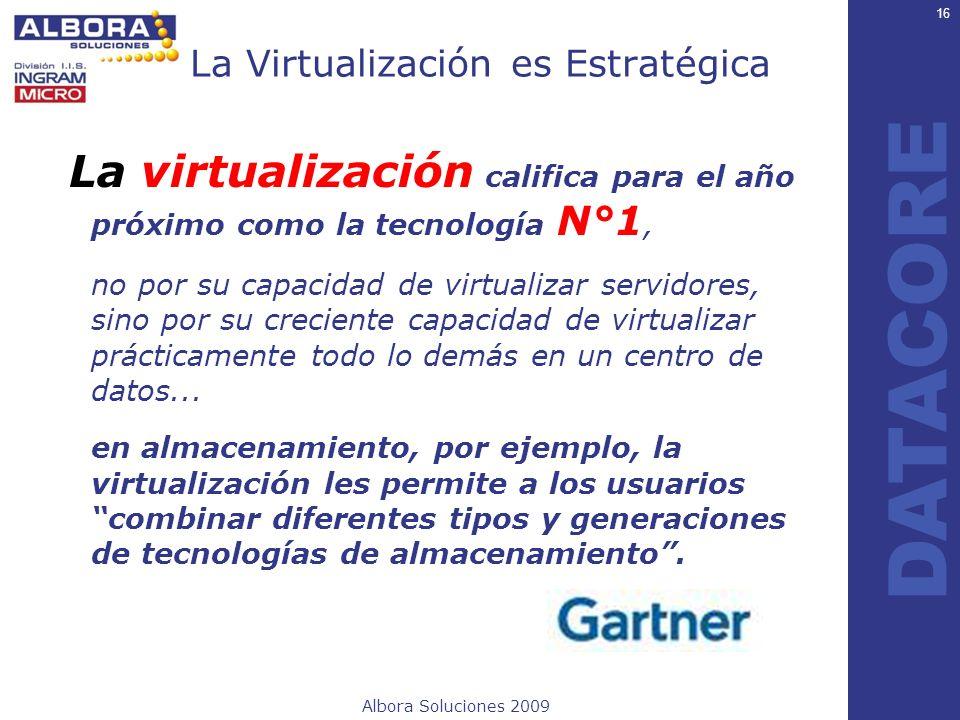La Virtualización es Estratégica