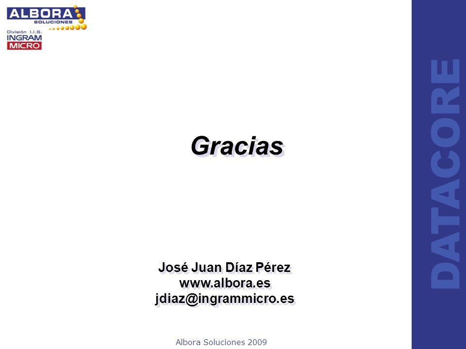 Gracias José Juan Díaz Pérez www.albora.es jdiaz@ingrammicro.es