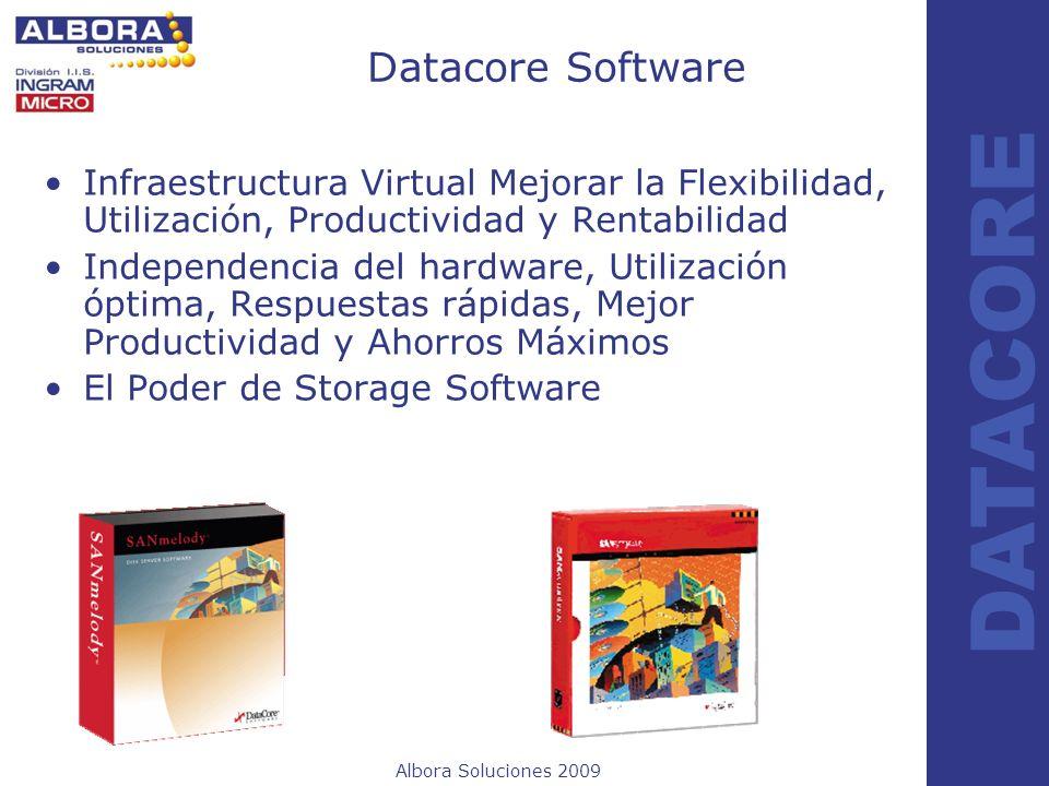 Datacore SoftwareInfraestructura Virtual Mejorar la Flexibilidad, Utilización, Productividad y Rentabilidad.