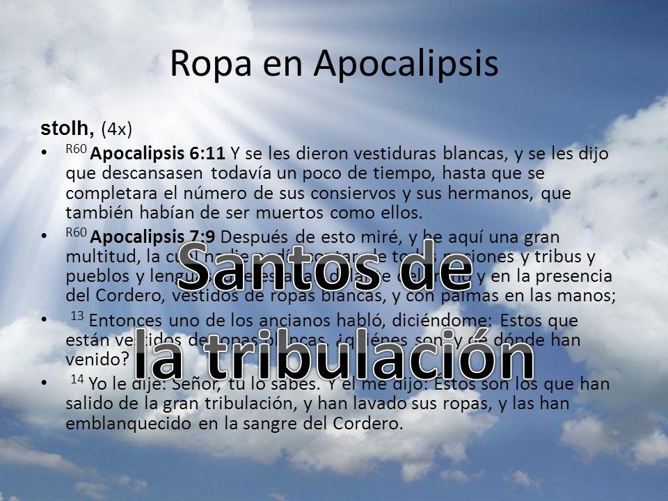 Santos de la tribulación
