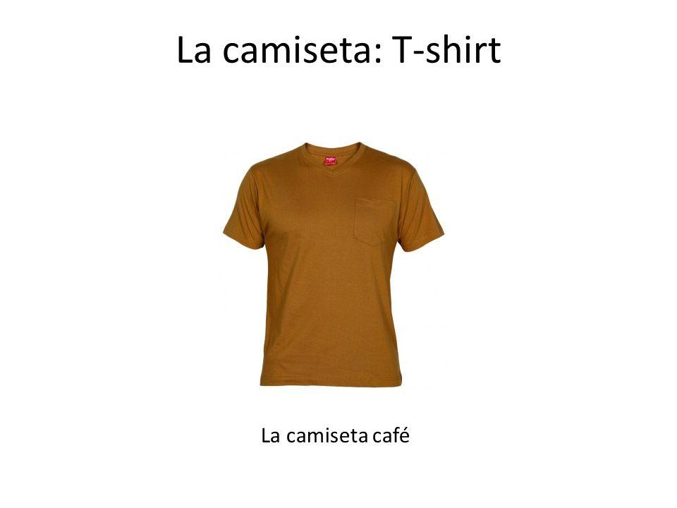 La camiseta: T-shirt La camiseta café