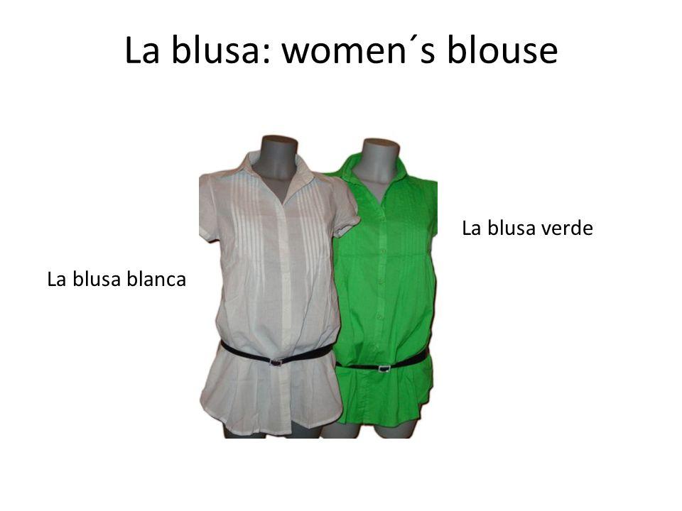 La blusa: women´s blouse