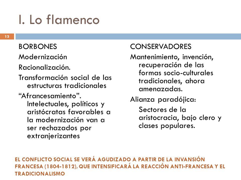 I. Lo flamenco